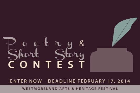 Poetry & Short Story Contest postcard 2014