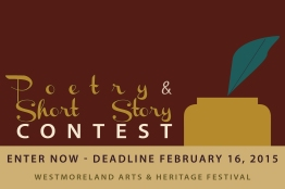 Poetry & Short Story Contest postcard 2015