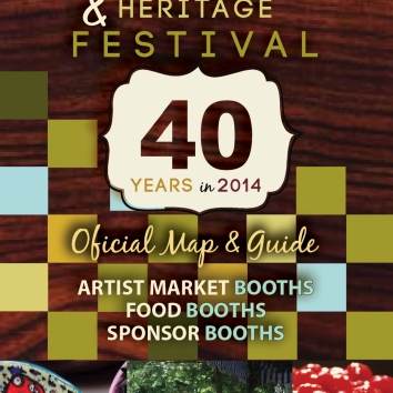 Westmoreland Arts & Heritage Festival map cover