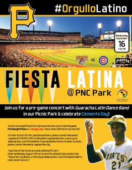 Fiesta Latina with the Pirates