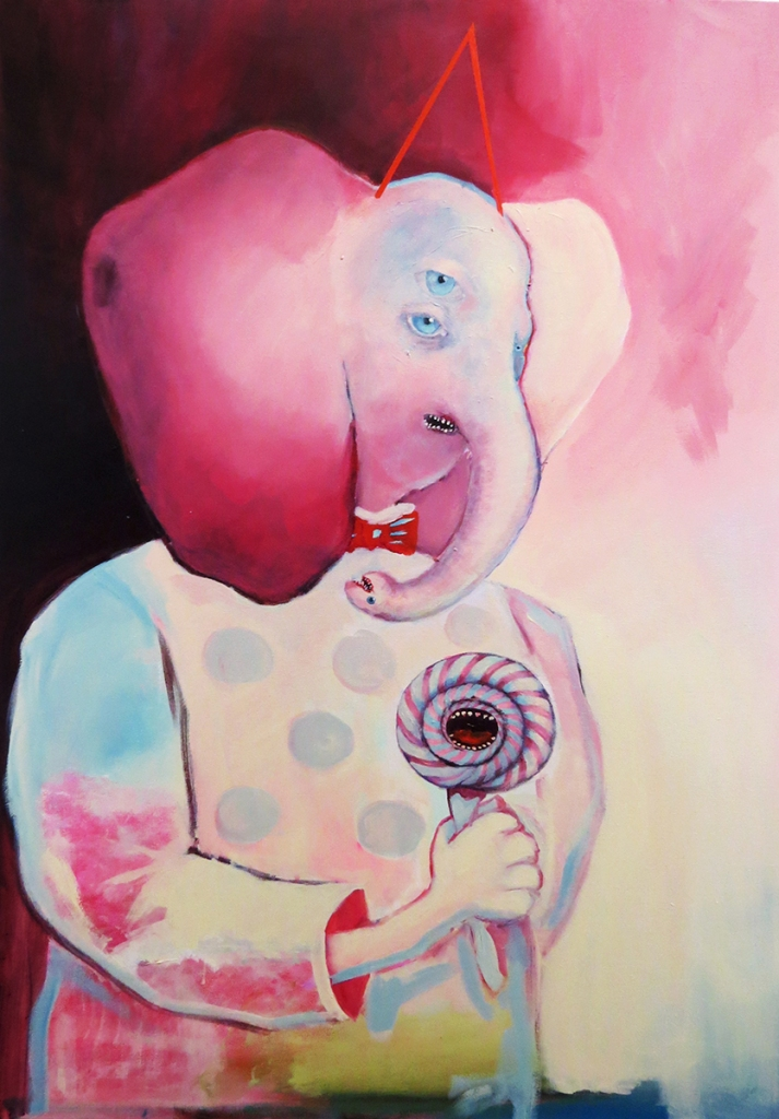 Candyman, 2019 | Acrylic on canvas.